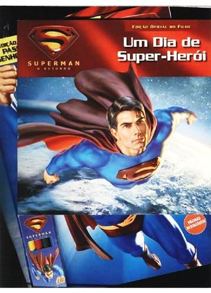 Kit do Superman garante diversão da criançada