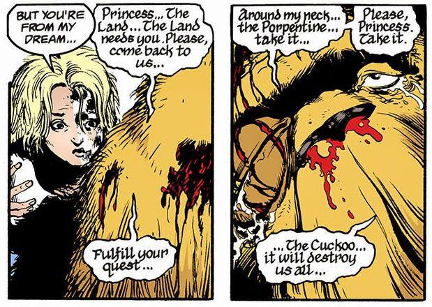 Dizem que Gaiman muitas vezes caracteriza as histórias de Sandman como