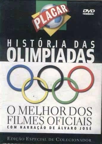 História das olimpíadas - o melhor dos filmes oficiais é uma série de 4 DVDs que Placar preparou para você