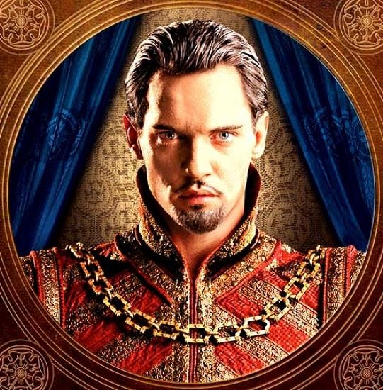 Vencedor do Globo de Ouro, interpreta de maneira magnífica o mais famoso rei da Inglaterra