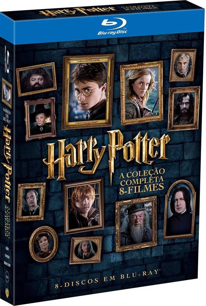 A coleção completa de Harry Potter em alta definição