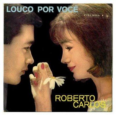 Roberto Carlos é o artista com mais álbuns vendidos na história da música popular brasileira. Louco por Você(na foto), de 1961, é o célebre disco de início de carreira