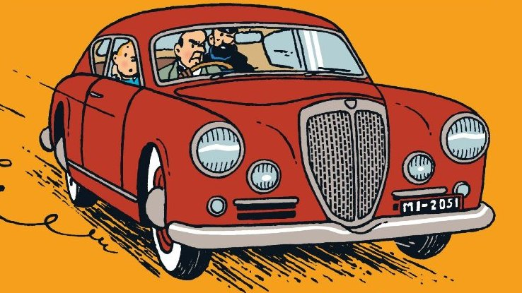 A relação entre Tintim e a Citroën vai muito além dos quadrinhos