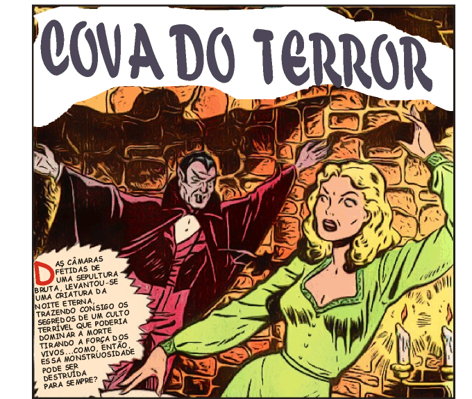 Cova do Terror - Quadrinhos proibidos dos anos 50