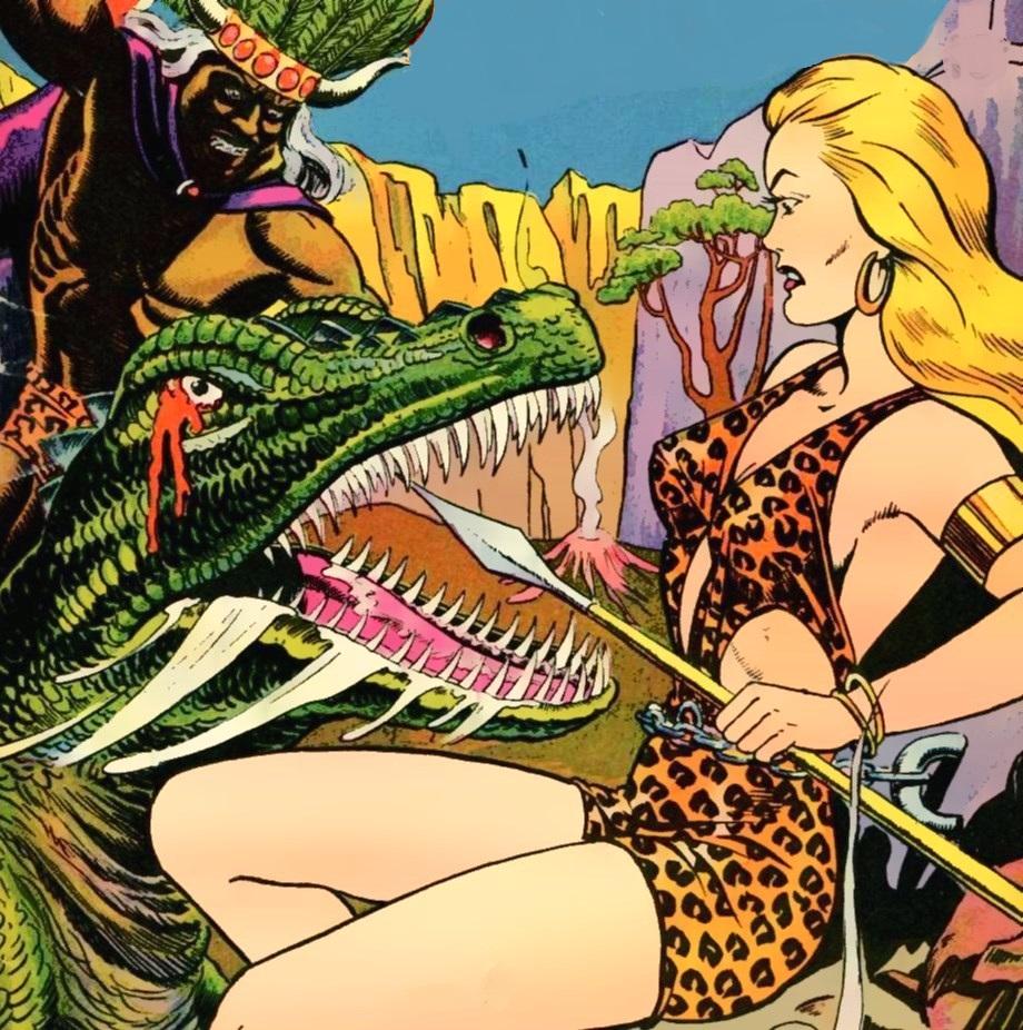 Sheena, depois de Tarzan, a primeira Rainha das Selvas!