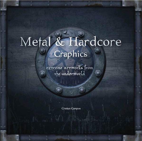Uma mostra de mais de 2000 obras de arte em metal e hardcore: capas, cartazes, logotipos...