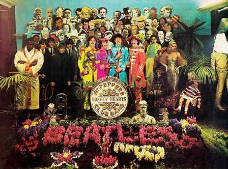 Em 1967 Sgt.Pepper's eleva o rock a categoria de arte