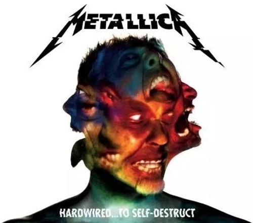 Metallica Hardwired To Self Destruct 2 Cds