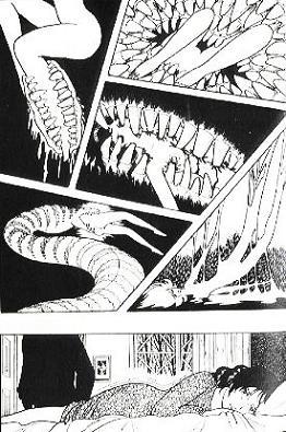 Ilustração dramática mostra a violação de Eliza, personagem da obra