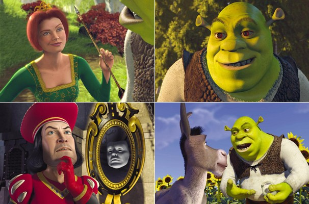 Os críticos classificam Shrek 1 como não só uma brilhante animação, mas também um filme esplêndido em todos os níveis