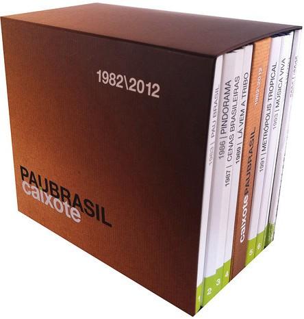Box Pau Brasil reúne CDs que são madeira de lei no mundo do som instrumental