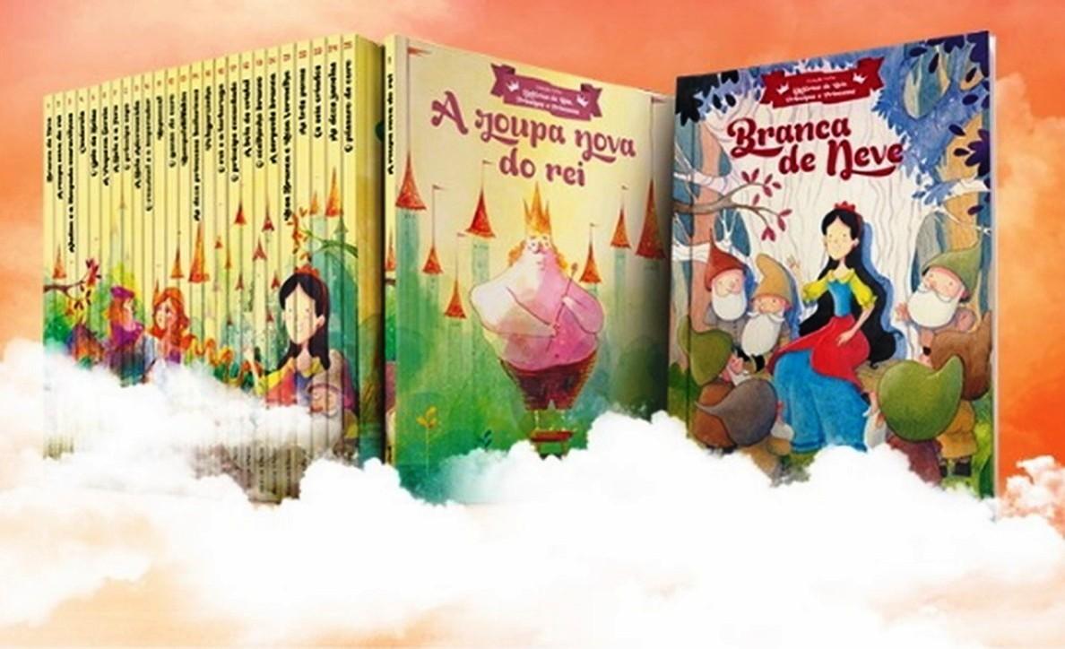 A Coleção Folha História de Reis, Príncipes e Princesas é composta de histórias comumente chamadas de contos de fadas