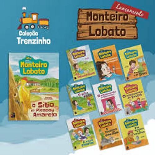 Coleção Trenzinho Monteiro Lobato - 10 Volumes
