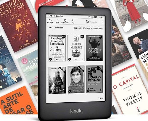 Novo Kindle 10a. geração com iluminação embutida – Cor Preta