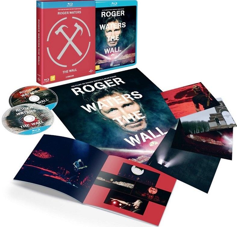 A inovadora obra-prima de Roger Waters, The Wall, lançada em DVD, Blu-Ray e em Edição Especial com 2 discos + Booklet, Pôster e Cards