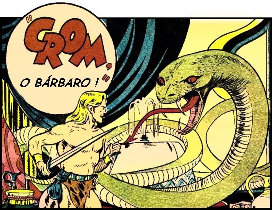 Crom (não confundir com Conan), o bárbaro