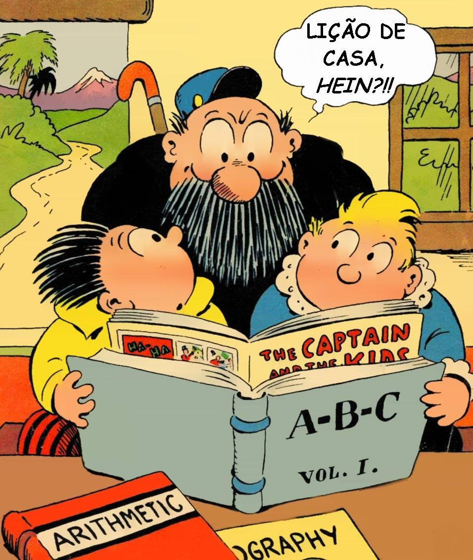 Meninos travessos são os precursores das histórias em quadrinhos