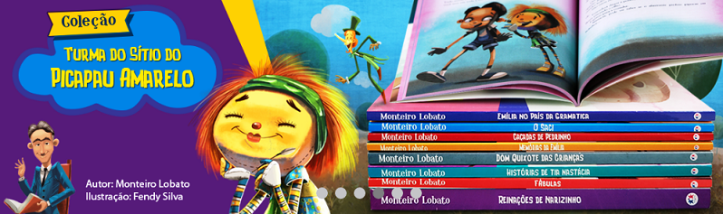Coleção Monteiro Lobato - 8 Volumes