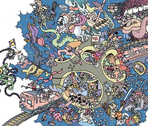 Novo álbum de Elza Soares tem capa de Laerte