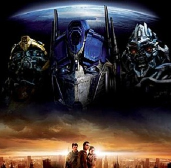 Transformers, entre as 60 maiores bilheterias do cinema