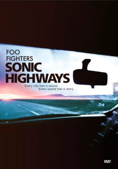 Dvd Foo Fighters - Sonic Highways - Deluxe - Box Com 4 Dvds