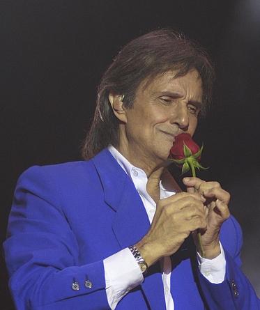 Roberto Carlos cantando em italiano, uma raridade made in Italy