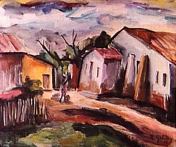 Raphael Galvez o pintor que não se vendia