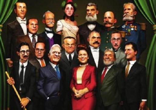 Conheça a história do Brasil e continue rindo...